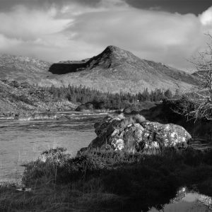 owenmore river and ben lettery mountain