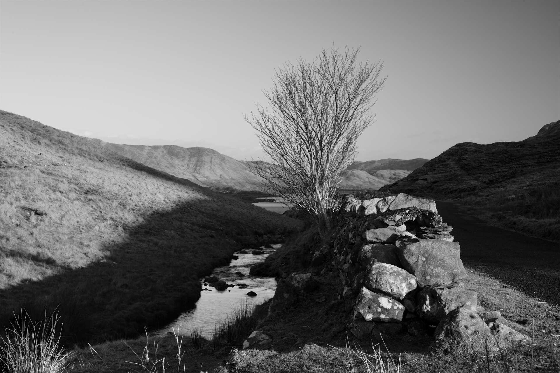 An bóthar go Loch Na Fuaiche