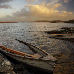 sunken boats connemara