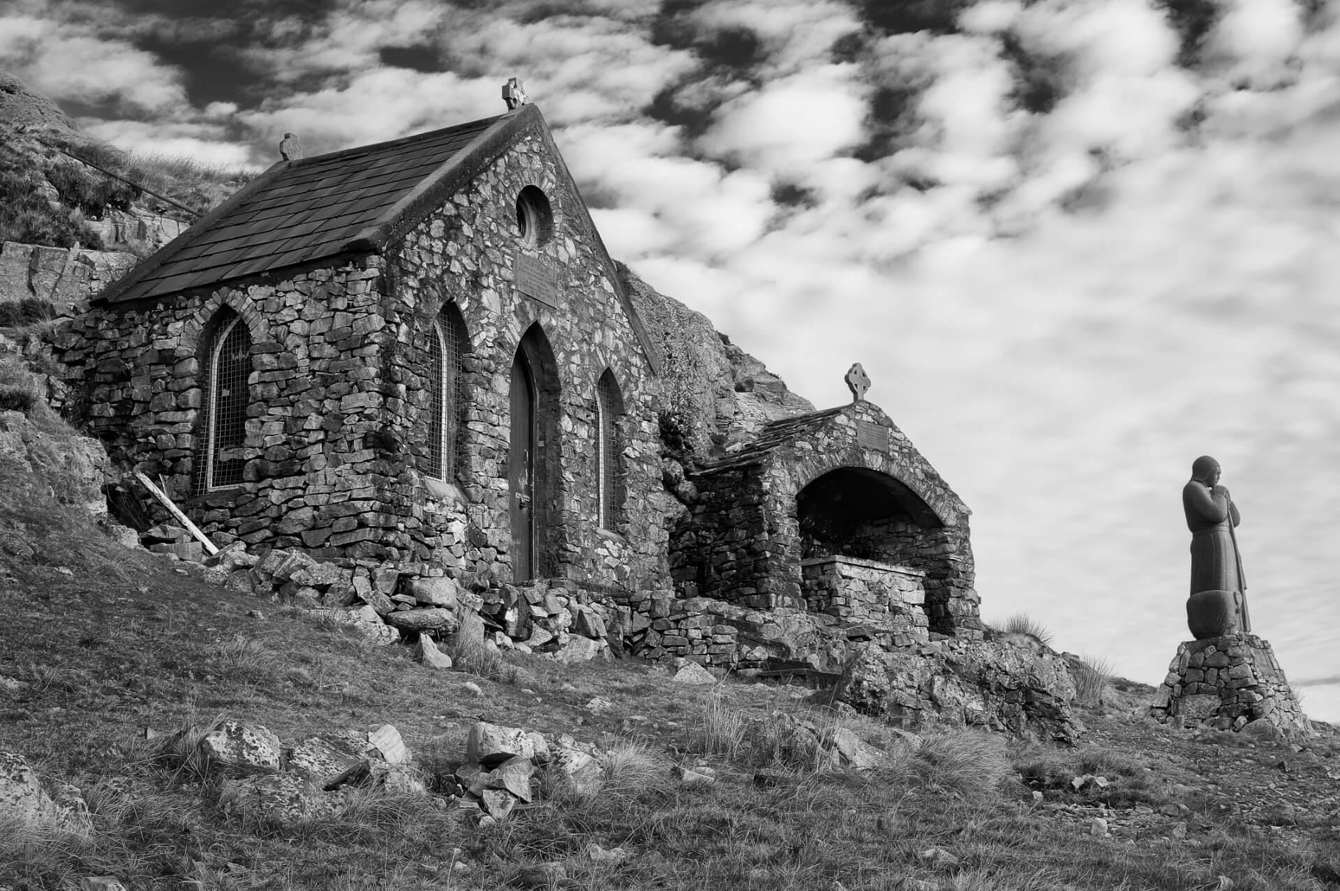 Mamean Chapel connemara