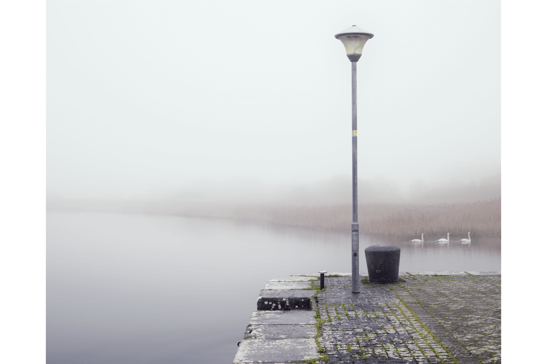 woodquay galway in fog